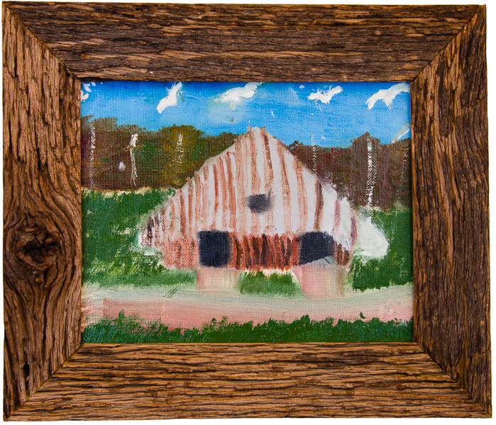 Grandpaw's Barn by Terry Smith, 1980