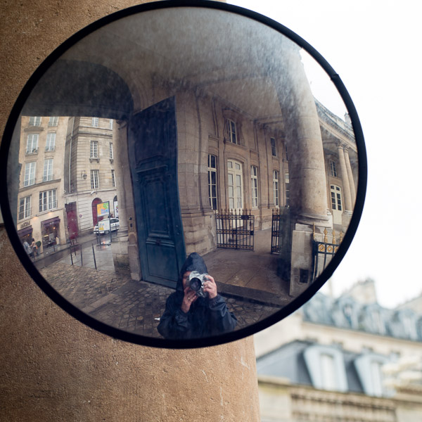 Self-portrait, Paris, 2012.