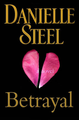 Torn Heart book cover by Terry Smith for Danielle Steel's Betrayal novel.