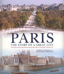 Book cover for PARIS: The Story of a Great City