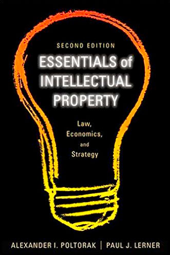 Lightbulb book cover for Essentials of Intellectual Property