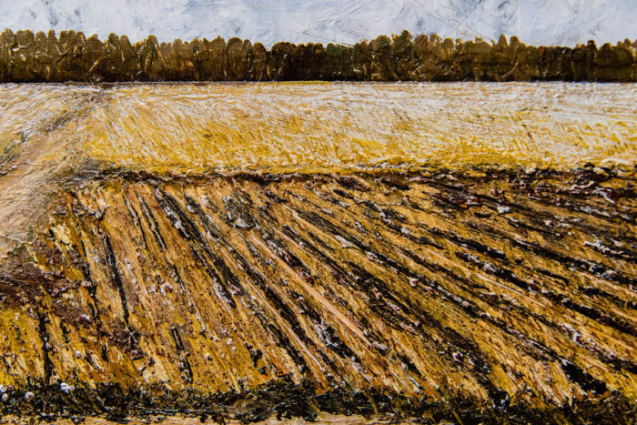 Arkansas Farm painting by Terry Smith, 2015