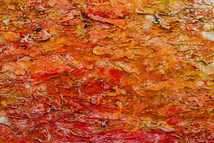 Fayetteville by Terry Smith, 2015. Close-up #8. Oil on canvas painting.