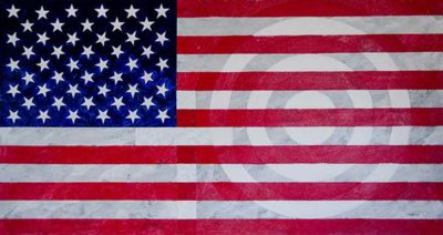 Born in the U.S.A. painting by Terry Smith, 2015