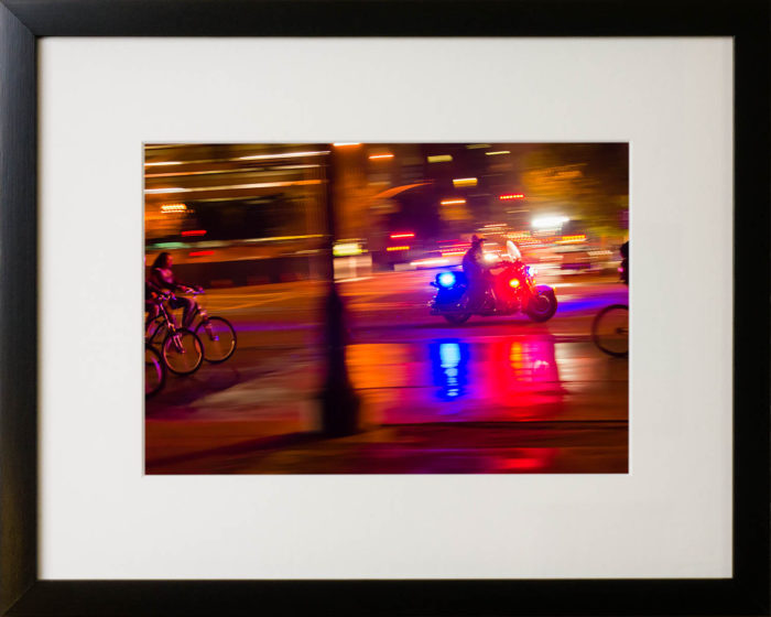 Bike Ride, San Francisco, 2013. Limited Edition print.