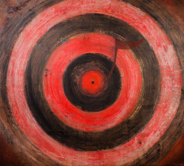 On Target, acrylic on canvas, by Terry Smith