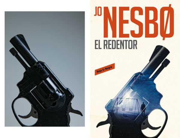 Photograph used on book cover of El Rendentor by Jo Nesbo